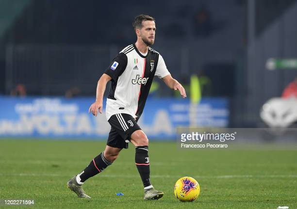 Miralem Pjanic of Juventus during the Serie A match between SSC Napoli and Juventus at Stadio San Paolo on January 26 2020 in Naples Italy