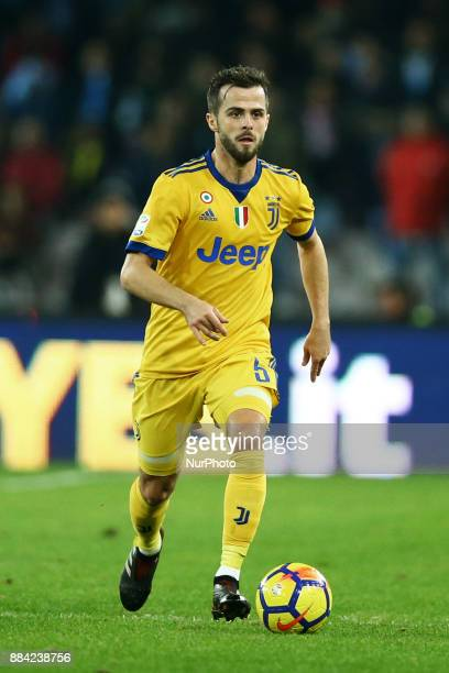 Miralem Pjanic of Juventus during the Serie A match between SSC Napoli and Juventus at Stadio San Paolo on December 1 2017 in Naples Italy