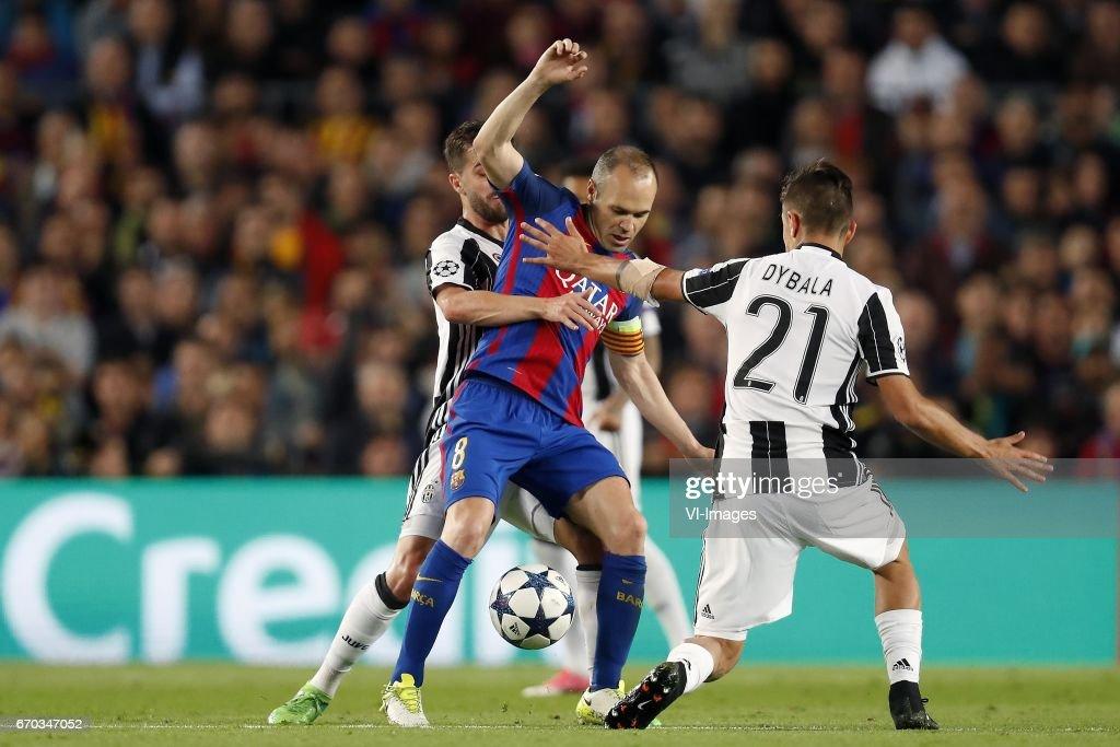 "UEFA Champions League""FC Barcelona v Juventus FC"" : News Photo"