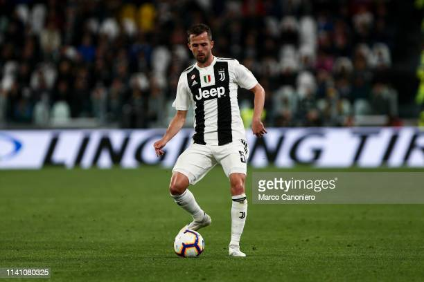 Miralem Pjanic of Juventus FC in action during the Serie A football match between Juventus Fc and Torino Fc The match ends in a tie 11