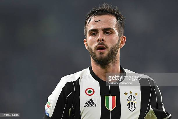 Miralem Pjanic of Juventus FC looks on during the Serie A match between Juventus FC and Atalanta BC at Juventus Stadium on December 3 2016 in Turin...