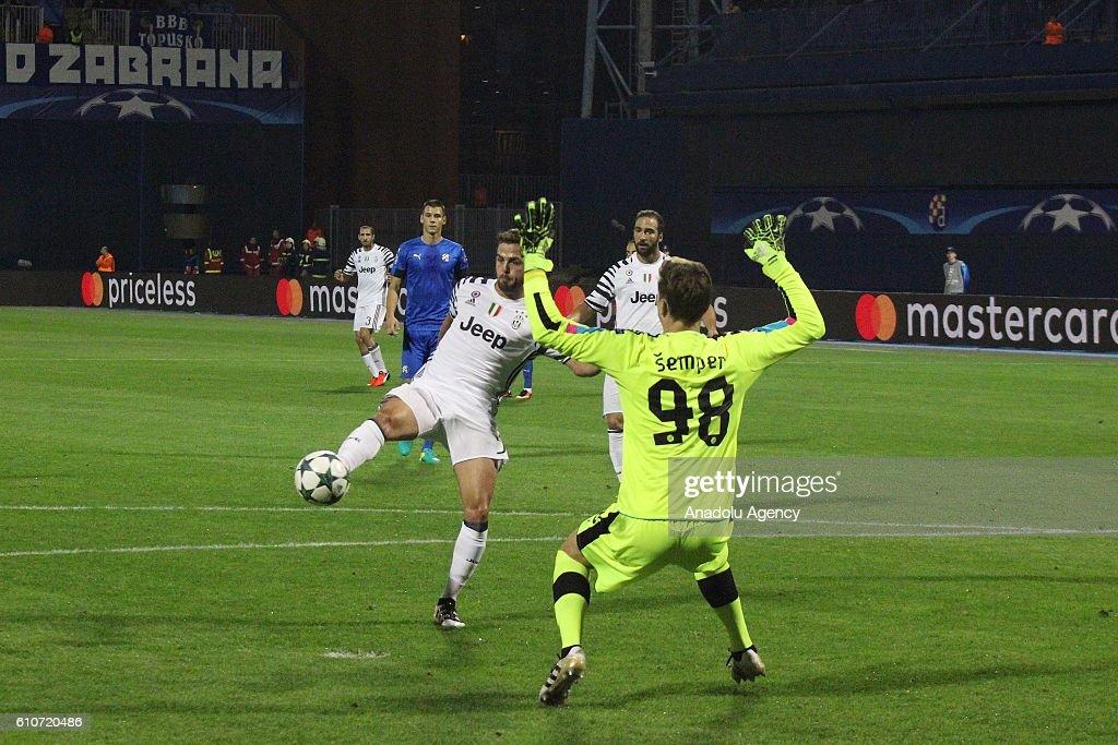 Dinamo Zagreb vs Juventus: UEFA Champions League : News Photo