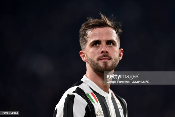 Miralem Pjanic of Juventus looks on during the Serie A match between Juventus and FC Internazionale on December 9 2017 in Turin Italy