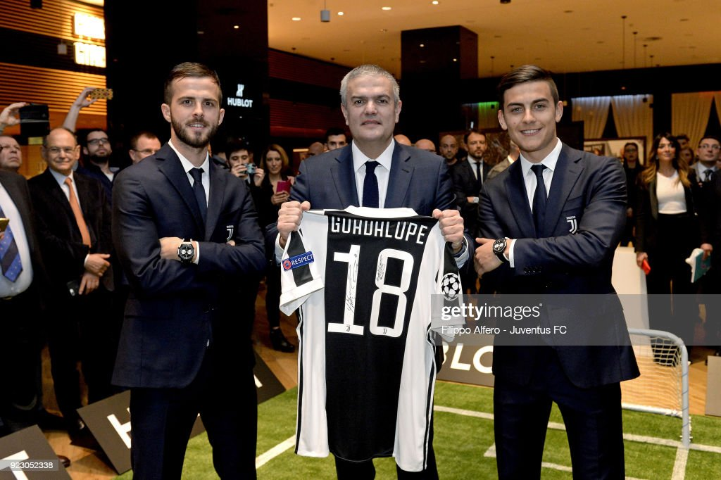 Hublot Renews Partnerhip With Juventus : ニュース写真