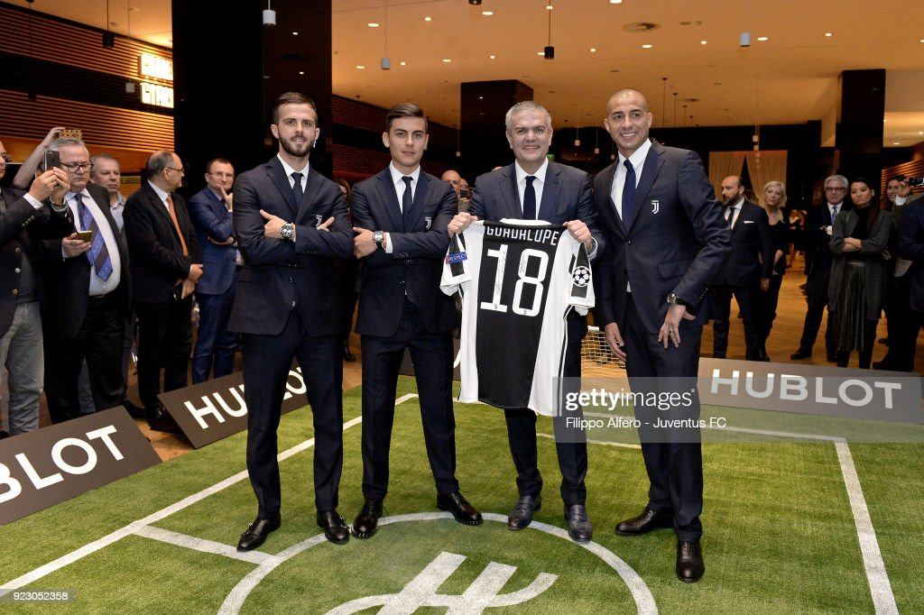 Hublot Event For Juventus : News Photo