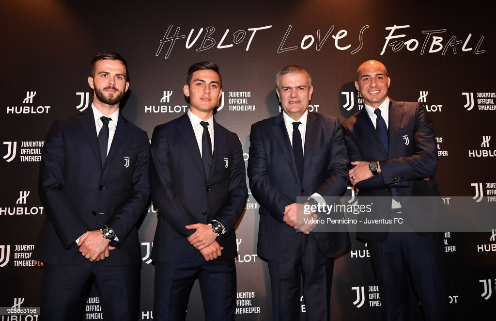 Hublot Event For Juventus : ニュース写真