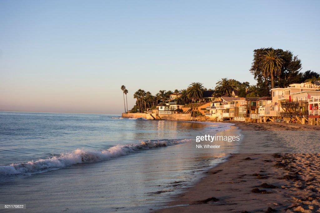 Miramar Beach In Montecito Santa Barbara California Usa