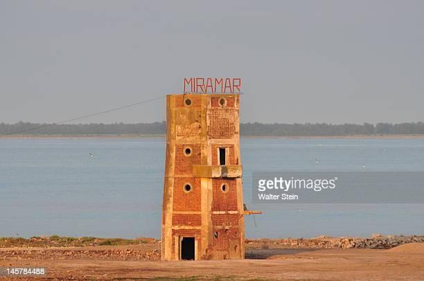 miramar lighthouse - cordoba argentina fotografías e imágenes de stock