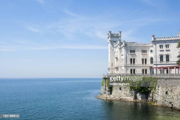 miramare castle - トリエステ ストックフォトと画像