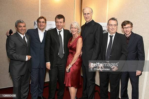Miramax's Daniel Battsek Producer Andy Harries Writer Peter Morgan Helen Mirren James Cromwell Director Stephen Frears and Exec Producer Francois...