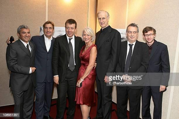 Miramax's Daniel Battsek Producer Andy Harries Writer Peter Morgan Helen Mirren James Cromwell Director Stephen Frears and Exec Producer Francois...