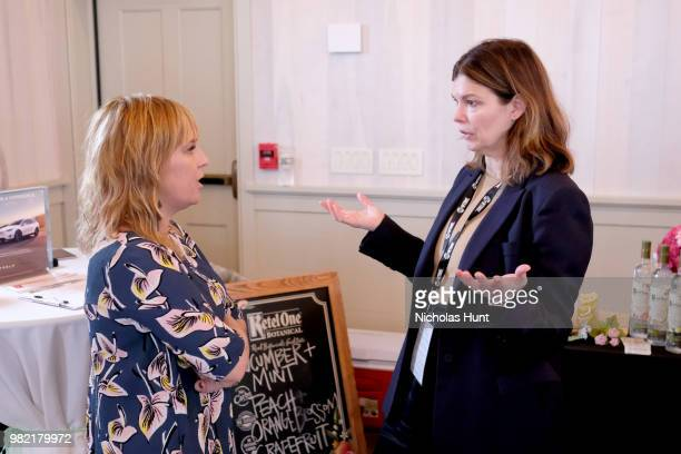 Miranda Bailey and Jeanne Tripplehorn attend Women Behind the Words at the 2018 Nantucket Film Festival Day 4 on June 23 2018 in Nantucket...