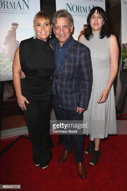 Miranda Bailey Eyal Rimmon and Amanda Marshall attend the Premiere Of Sony Pictures Classics' Norman at Linwood Dunn Theater at the Pickford Center...