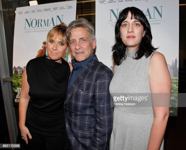 Miranda Bailey Eyal Rimmon and Amanda Marshall attend the premiere and prereception for Sony Pictures Classics' 'Norman' at Linwood Dunn Theater at...