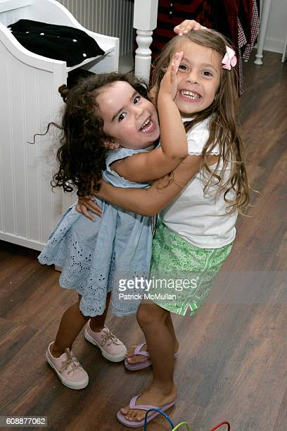 Miranda Cohen Hausman and Bella Cuomo attend HATCHLINGS Spring 2008 HATCH Boys Collection hosted by ANNETTE LAUER CRISTINA CUOMO and ANA MARIA PEREZ...