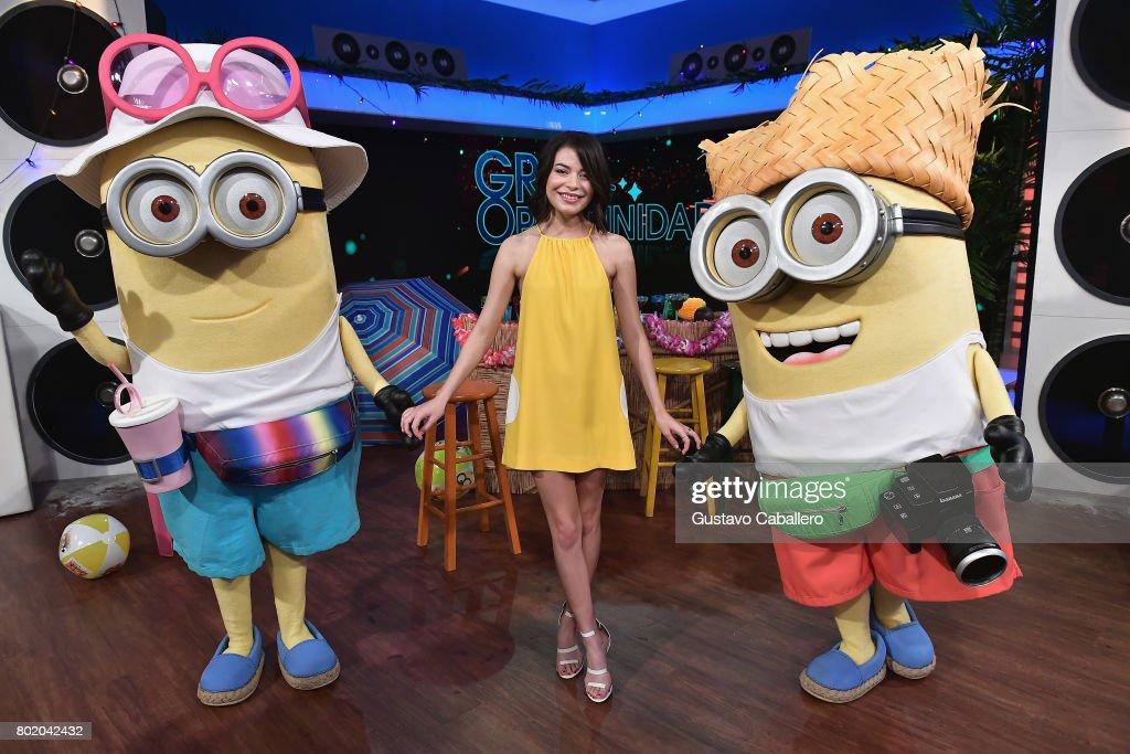 Miranda Cosgrove attends the DM3 - Press Day Miami - Un Nuevo Dia on June 27, 2017 in Hialeah, Florida.