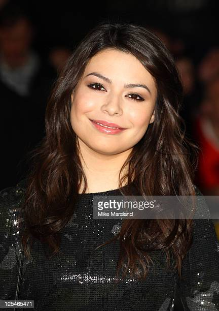 Miranda Cosgrove attends the European premiere of 'Despicable Me' at Empire Leicester Square on October 11 2010 in London England