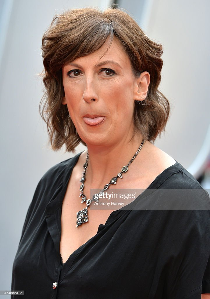 Miranda Hart attends the UK Premiere of 'Spy' at Odeon Leicester Square on May 27, 2015 in London, England.