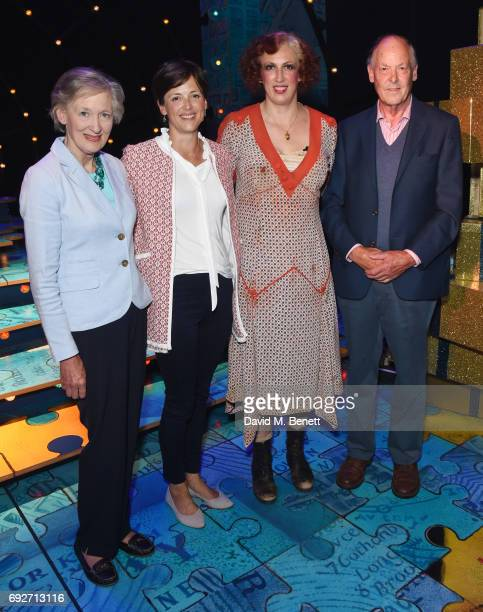 Miranda Hart's family Mother Diana Hart Dyke Sister Alice Goodwin Miranda Hart and father David Hart Dyke attend the press night performance of...