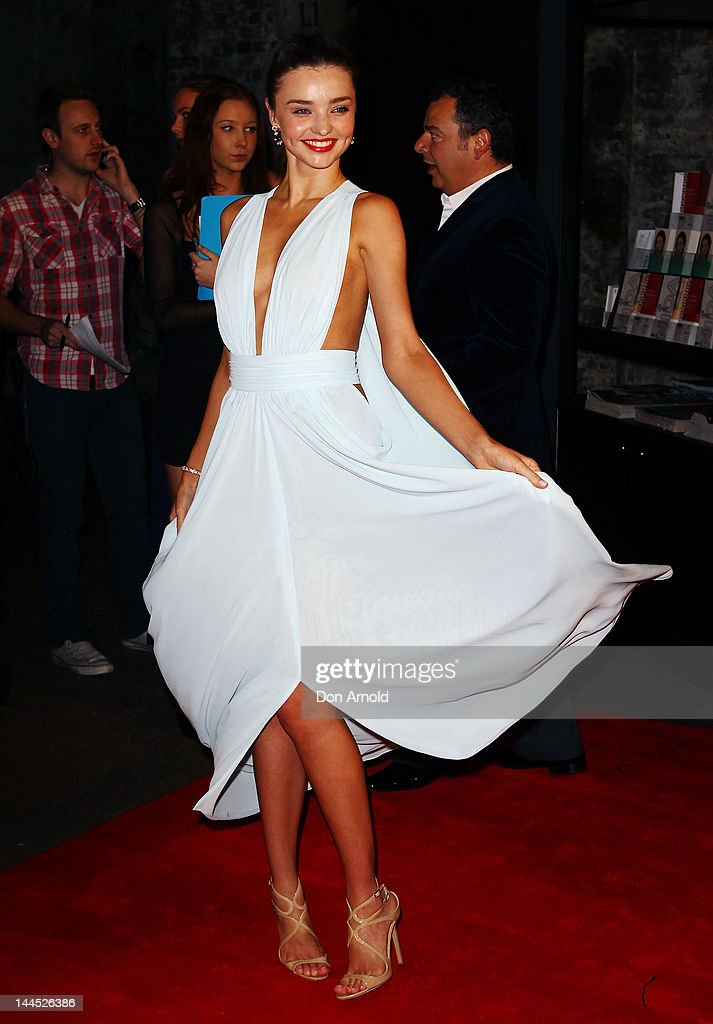 Miranda Kerr arrives at the 2012 Women Of Style Awards at The Carriageworks on May 15, 2012 in Sydney, Australia.