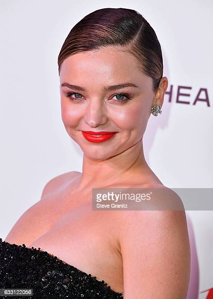 Miranda Kerr arrives at the Harper's Bazaar Celebrates 150 Most Fashionable Women at Sunset Tower Hotel on January 27 2017 in West Hollywood...