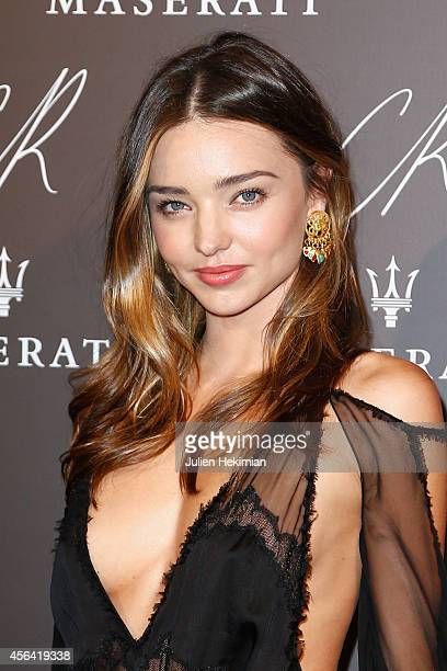 Miranda Kerr attends CR Fashion Book Issue N°5 Launch Party as part of the Paris Fashion Week Womenswear Spring/Summer 2015 on September 30 2014 in...