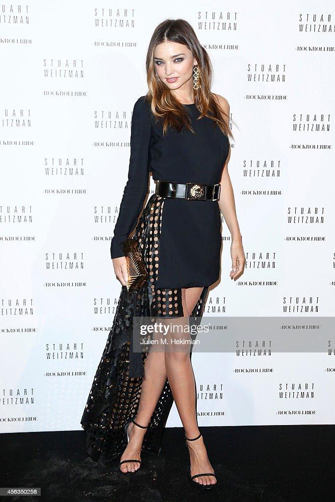 Stuart Weitzman Hosts Cocktail Party - Paris Fashion Week Womenswear Spring/Summer 2015 : News Photo