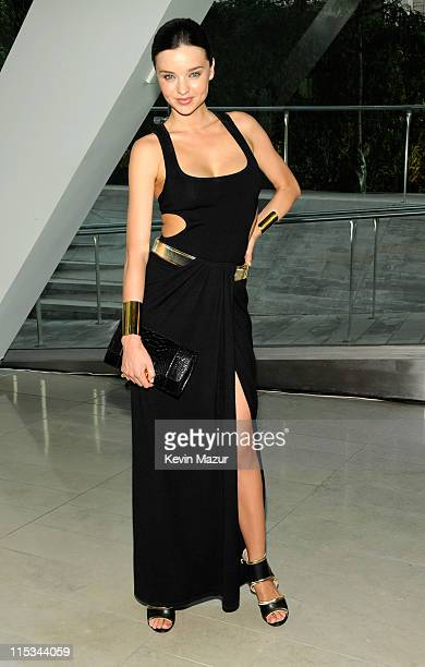 Miranda Kerr attends the 2011 CFDA Fashion Awards at Alice Tully Hall Lincoln Center on June 6 2011 in New York City