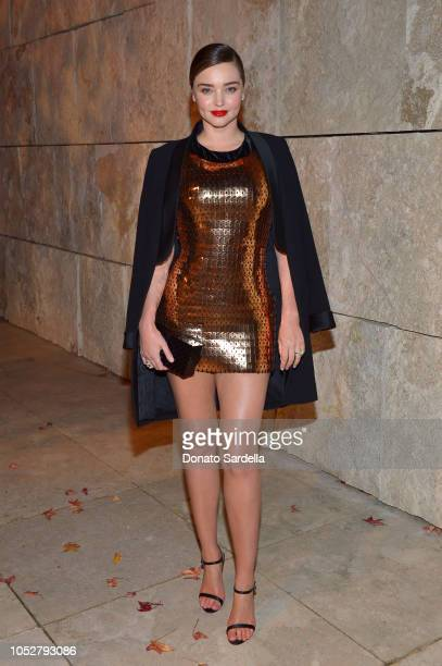 Miranda Kerr attends the 2018 InStyle Awards at The Getty Center on October 22 2018 in Los Angeles California