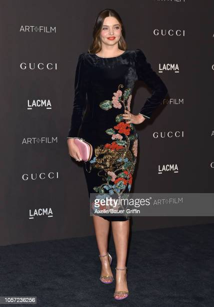Miranda Kerr attends the 2018 LACMA Art Film Gala at LACMA on November 03 2018 in Los Angeles California