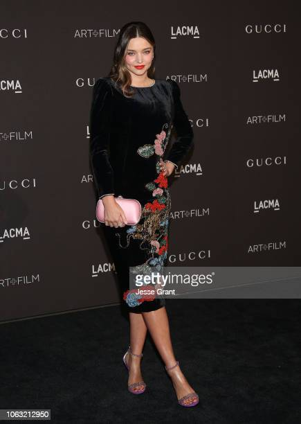 Miranda Kerr attends the 2018 LACMA Art Film Gala at LACMA on November 03 2018 in Los Angeles California