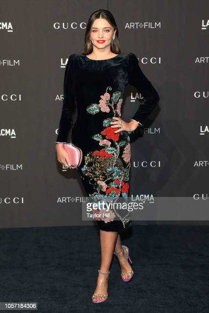 Miranda Kerr attends the 2018 LACMA ArtFilm Gala at LACMA on November 3 2018 in Los Angeles California