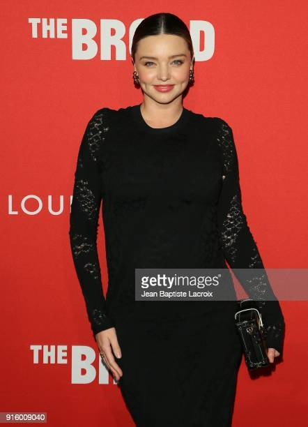 Miranda Kerr attends The Broad and Louis Vuitton's celebration of Jasper Johns 'Something Resembling Truth' at The Broad on February 8 2018 in Los...
