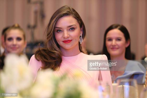Miranda Kerr during the Gruner+Jahr Spa Awards at Brenners Park-Hotel & Spa on March 30, 2019 in Baden-Baden, Germany.