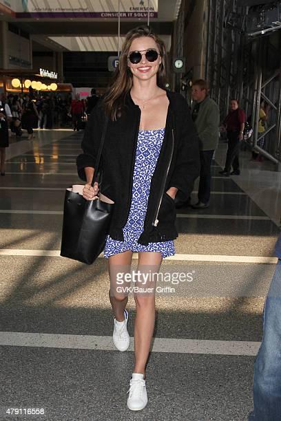 Miranda Kerr is seen at LAX on June 30 2015 in Los Angeles California