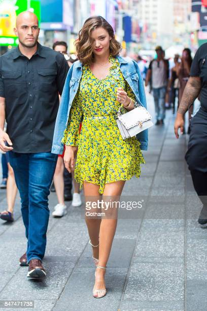 Miranda Kerr is seen in Midtown on September 15 2017 in New York City