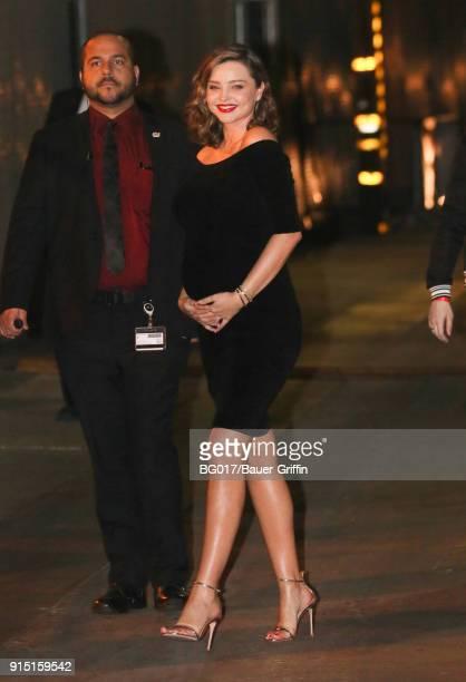 Miranda Kerr is seen on February 06 2018 in Los Angeles California