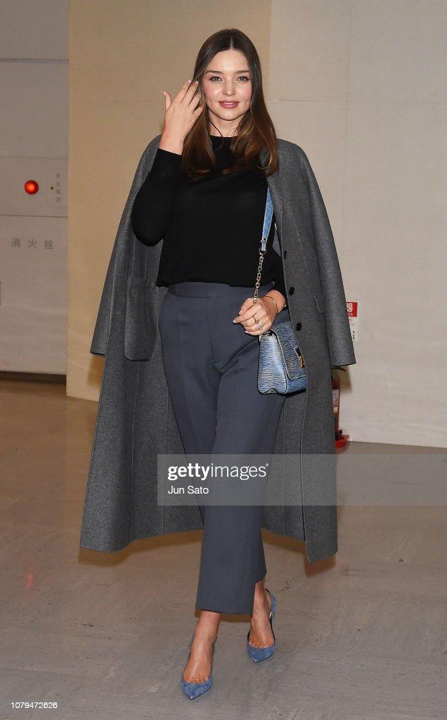 Miranda Kerr Arrives In Tokyo : News Photo