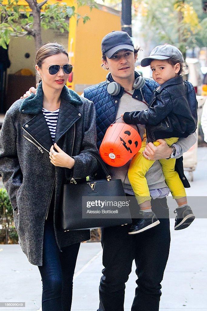 Celebrity Sightings In New York City - October 28, 2013 : News Photo