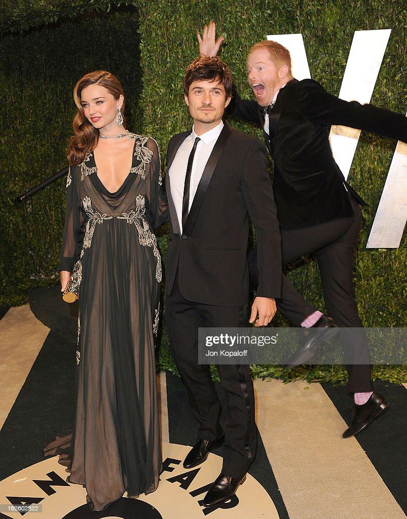 2013 Vanity Fair Oscar Party : News Photo