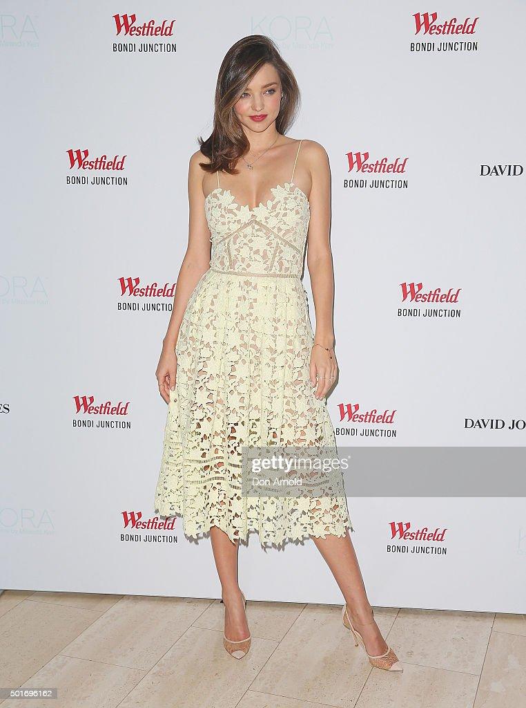 Miranda Kerr Appears At Kora Cosmetics Pop Up Shop : News Photo