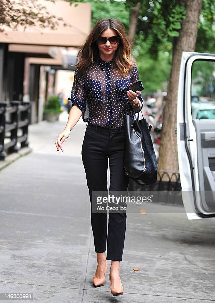 Miranda Kerr sighting at Streets of Manhattan on June 13 2012 in New York City