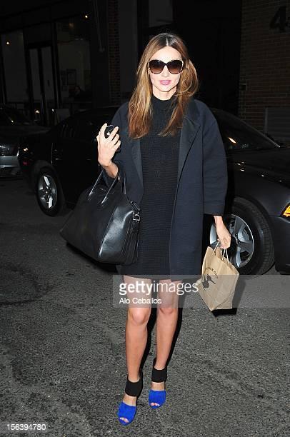 Miranda Kerr Sighting at Streets of Manhattan on November 14 2012 in New York City