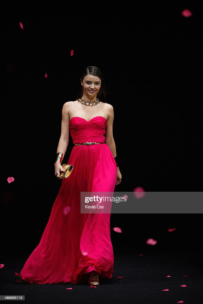 Michael Kors Strapless Red Dress