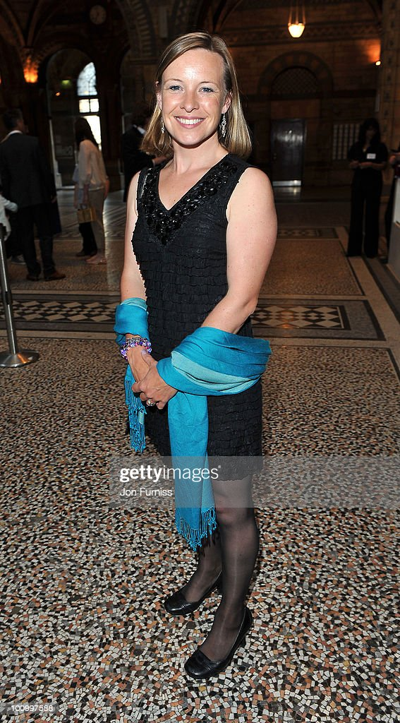 Miranda Krestovnikoff attends the launch party for 'The Deep' exhibition at Natural History Museum on May 26, 2010 in London, England.