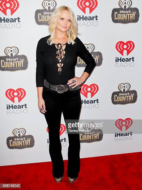 Miranda Lambert attends the 2016 iHeartCountry Festival at The Frank Erwin Center on April 30 2016 in Austin Texas