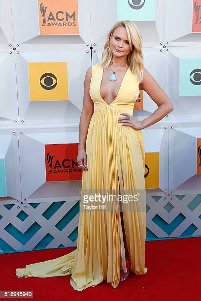 Miranda Lambert attends the 51st Academy Of Country Music Awards at MGM Grand Garden Arena on April 3 2016 in Las Vegas Nevada