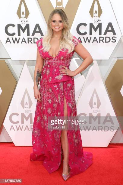 Miranda Lambert attends the 53nd annual CMA Awards at Bridgestone Arena on November 13, 2019 in Nashville, Tennessee.