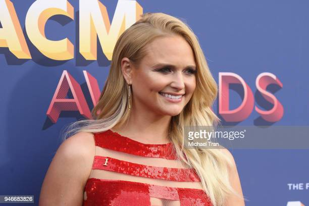 Miranda Lambert attends the 53rd Academy of Country Music Awards at MGM Grand Garden Arena on April 15 2018 in Las Vegas Nevada
