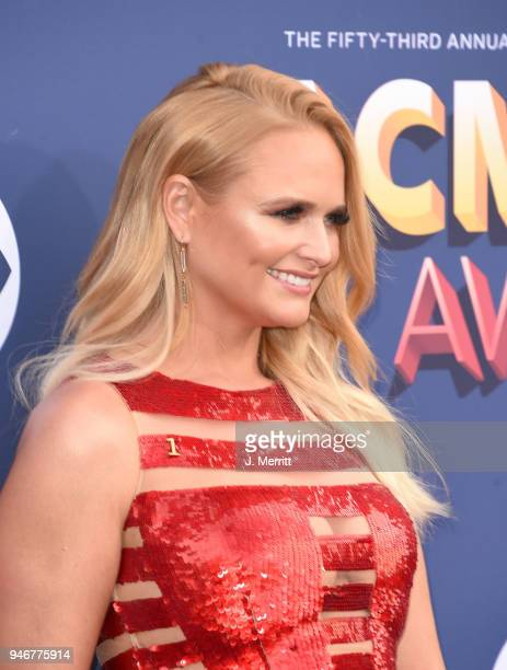 Miranda Lambert attends the 53rd Academy of Country Music Awards at the MGM Grand Garden Arena on April 15 2018 in Las Vegas Nevada